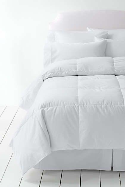 Essential Down Comforter Lands End Down Comforter Comforters Bed