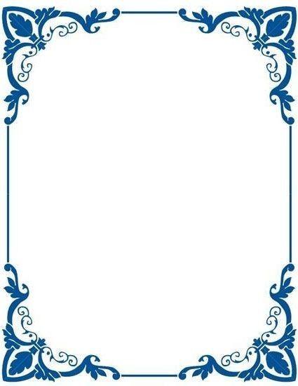 Pin By Hsnmatur On Resim Yazi Cerceveler Clip Art Frames Borders Frame Border Design Floral Border Design