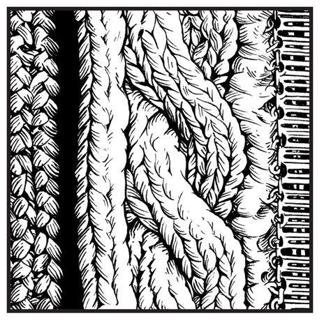 Chunky hand-knit, Pringle of Scotland womenswear A/W14. Illustration by Tom Baxter