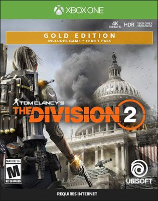 New Games Tom Clancy S The Division 2 Pc Ps4 Xbox One Tom Clancy Tom Clancy The Division Xbox One