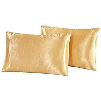 Dreamx Luxury Silk Satin Pillowcase For Hair And Skin 2 Pack King