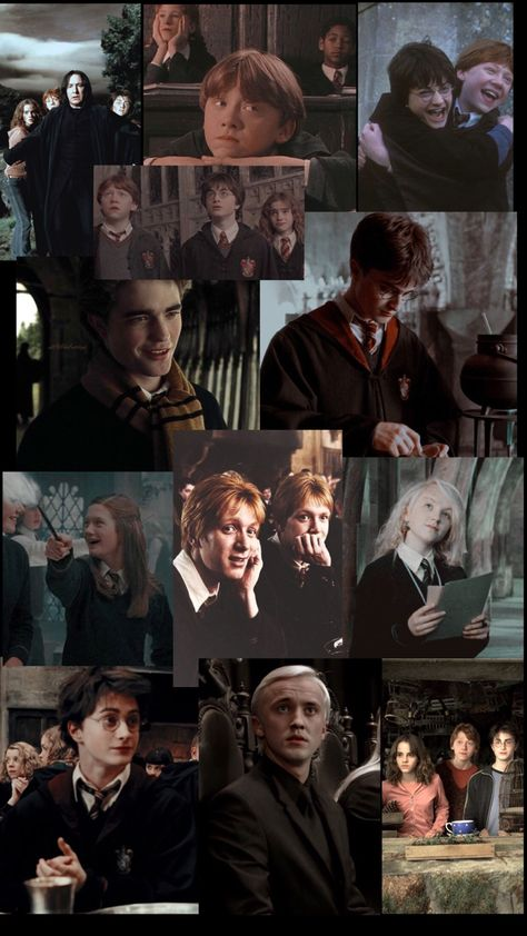 Harry Potter Aesthetic Collage