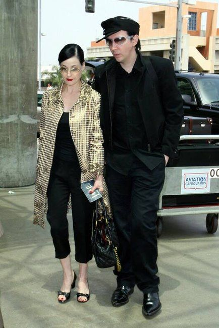 Dita and Marilyn Manson.