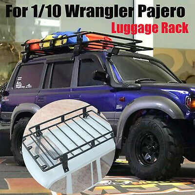 Advertisement Metal Luggage Rack Roof Exterior Carrier For 1 10 Wrangler Pajero Rc Car Model In 2020 Luggage Rack Car Model Rc Cars