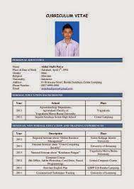 kerjaya kerajaan malaysia panduan menulis resume kerja terbaik