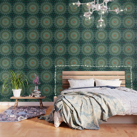 Important Make Sure To Order Enough Panels To Cover Your Wall Or Surface Size Options Below Our Peel And Stick Blue Wallpapers Wallpaper Pattern Wallpaper