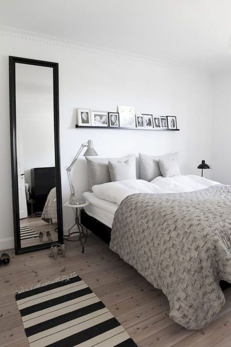 60 Small Apartment Bedroom Decor Ideas On A Budget (40)