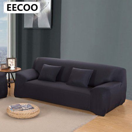 Sofa Couch Cover Easy Fit Stretch Covers Elastic Fabric Settee Protector Slipcover Washable Solid Easyhomedecor Sofa Covers Leather Sofa Set Cushions On Sofa