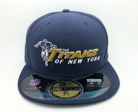 New York Jets Titans Nfl New Era 59 Fifty Fitted Hat Cap Size 7 1 2 New Fitted Hats New York Jets Hats