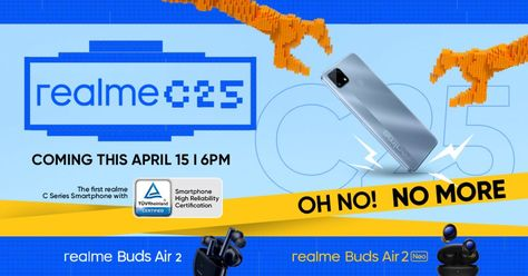 realme C25 to Launch on April 15 in PH