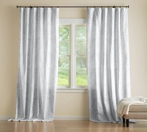 Riviera Striped Linen Cotton Rod Pocket Blackout Curtain Navy Custom Drapes Printed Curtains Drapes And Blinds