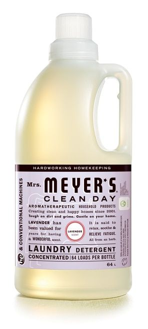 Mrs Meyer S Rosemary Laundry Detergent 64 Fl Oz Laundry