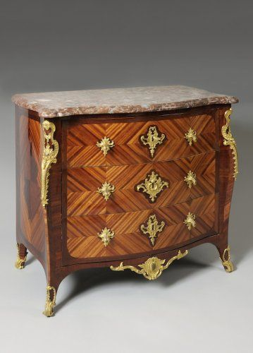 Commode D Epoque Regence Estampillee Bvrb Bvrb Commode