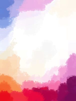 خلفية بألوان مائية بسيطة تمام ا Watercolor Background Easy Watercolor Beautiful Wallpapers Backgrounds