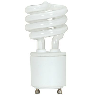 9w 120v T2 Gu24 Mini Spiral Cfl Bulb Fluorescent Light Bulb Compact Fluorescent Bulbs Bulb
