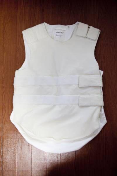 OG Helmut Lang 'Bullet Proof vest' from 98 runway piece.