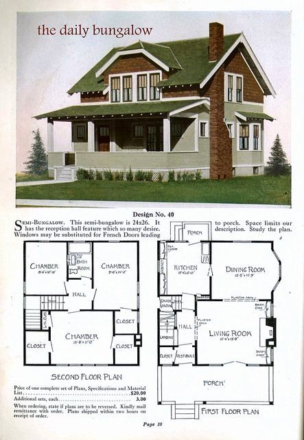 1930 Bungalow House Plans Elegant 1930s Bungalow Semi Bungalow Jens Pedersen Architect In 2020 Craftsman Bungalow House Plans House Plans Bungalow House Plans