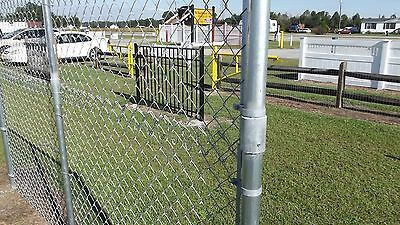 Extend A Fence Chain Link Raise Fence Up To 2 Line Post Kit 1 5 8 Add Height Chain Link Fence Fence Path Design