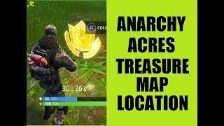 Anarchy Acres Treasure Map Location Week 5 Treasure Map Fortnite Treasure Maps Fortnite Map