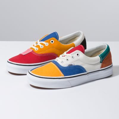 Patchwork Era Shop At Vans Custom Vans Shoes Shoes Womens