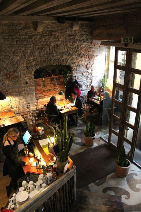 Rataskaevu 16 - Tallinn , restaurants in tallinn, rataskaevu 16 - k amp uuml chen luxus design