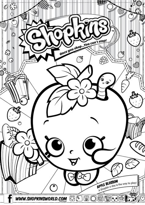 Choco Lava Shopkins Coloring Page - Free Shopkins Coloring Pages ... | 670x474