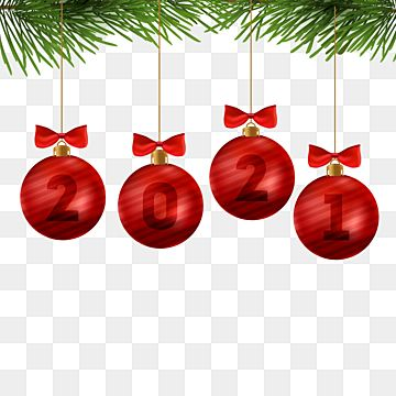 2021 New Year Design With Decorative Christmas Balls 2021 Christmas Ball Png And Vector With Transparent Background For Free Download Happy New Year Wallpaper Christmas Balls Christmas Decorations Tree