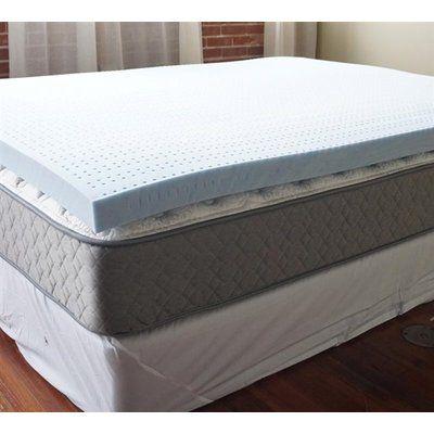 Alwyn Home Gel Infused 3 Memory Foam Mattress Topper Bed Size Twin Xl