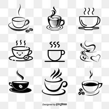 مخطط متجهات القهوة الساخنة ناقلات القهوة كأس الكرتون كف Png وملف Psd للتحميل مجانا Coffee Vector Hot Coffee Coffee