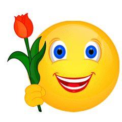 Smiley animiert | Blumen – Gedichte – Maerchen