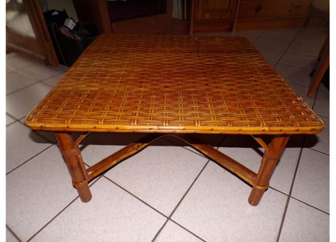 Table Basse Rotin Et Osier Carrre Table Basse Table