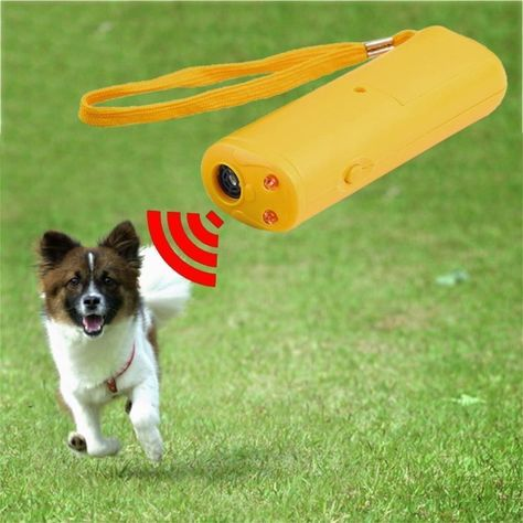 130db Ultrasonic Dog Repeller Training Device Anti Barking Stop