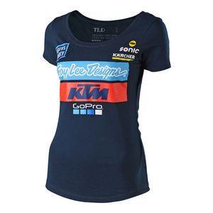 Troy Lee Ktm Team Women S T Shirt Team T Shirts Troy Lee Tee Shirts