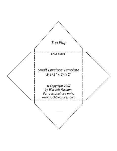 envelope-templatejpg 612×792 pixels Fun with Crafts Pinterest - small envelope template