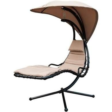 Outdoor Chaise Lounge Chair With Canopy Hammock Swing Chair Outdoor Hammock Swing Hammock Swing