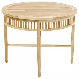Ploaÿ New Orleans Gartentisch A 100x75 Cm Eco Teak Teak Natur Gartentisch Rund Holz Teak Esstisch Gartentisch