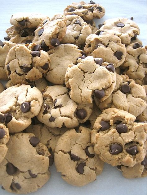 Looking for the perfect recipe for soft and chewy vegan peanut butter chocolate chip cookies? Look no further, this is IT!