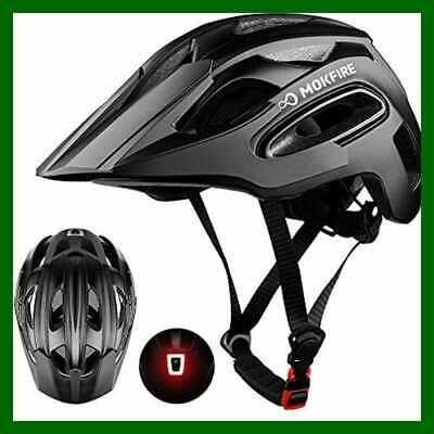 Ad Ebay Mokfire Mountain Bike Helmet For Adult Men Women W Usb Safety Light Adjustable M Mountain Bike Helmets Bike Helmet Helmet