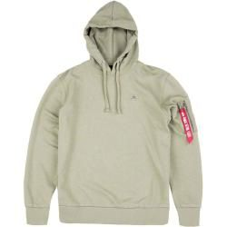 Alpha Industries X-Fit Hoody Herren Kapuzenpullover Sweater Pullover 158321Silver Pink 3xl Alpha Ind