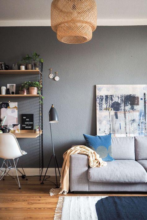 Mein Zuhause Ein Wohnzimmer Update Grey Walls Living Room Living Room Update Living Room Sets
