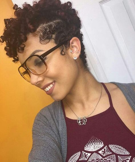 List Of Pinterest Flexi Rods On Natural Hair Short Pictures