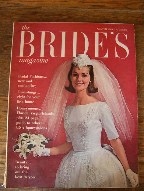 1963 Winter Vintage Bride Magazine