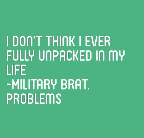 Repin if you are a proud Military Brat #MonthOfTheMilitaryChild - proudest accomplishment