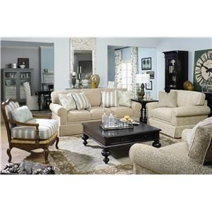 Paula Deen By Universal Paula Deen Home Sofa With Rolled Arms And Skirt   Fashion  Furniture   Sofa Fresno, | Down By The Sea | Pinterest | Paula Deen, ... Awesome Design