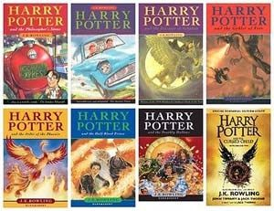 Harry Potter The Complete Collection 1 8 Books By J K Rowling Jk Rowling Books Rowling Potter