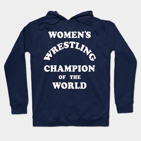 Andy Kaufman Women's Wrestling Champion Of The World Hoodie