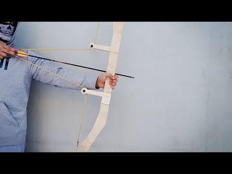 Homemade Slingbow Diy Youtube Estilingue Sobrevivencia