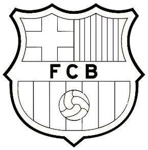 Resultado De Imagen Para Escudo Del Barcelona Para Pintar E Imprimir Escudo Del Barcelona Logo De Barcelona Barcelona Dibujo