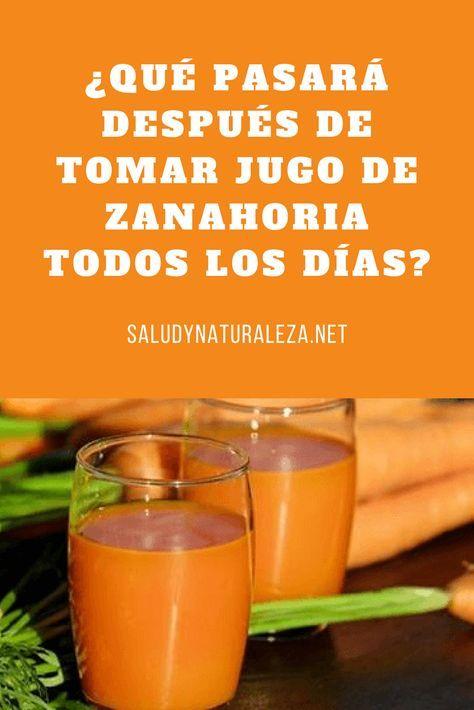 Que Pasara Despues De Tomar Jugo De Zanahoria Todos Los Dias Jugodezanahoria Zanahoria Carrot Juice Juicing For Health Mango Smoothie