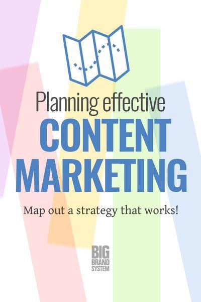 Planning Effective Content Marketing